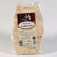 Harina de garbanzo eco 300 gr.