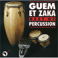Guem et Zaka Best of Percussion CD